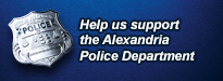 Help us support the Alexandria Police Foundation.